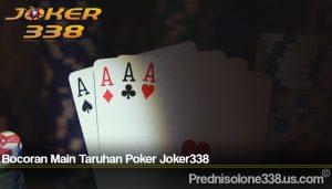 Bocoran Main Taruhan Poker Joker338