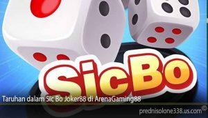 Taruhan dalam Sic Bo Joker88 di ArenaGaming88